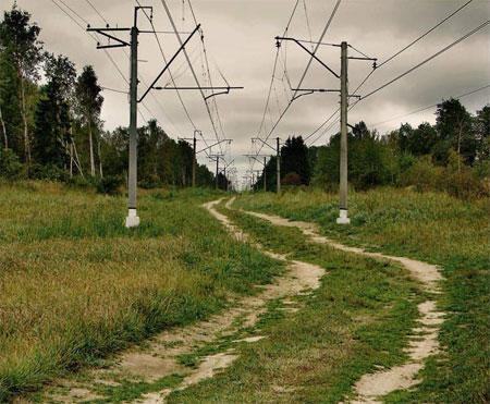 Просёлочная дорога