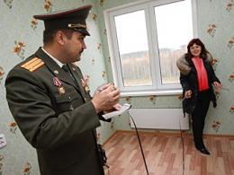 За нерадивое расположение жилища покарали 700 силовиков