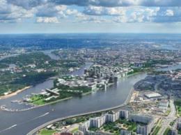 Вексельберг возведет апартаменты на Петровском полуострове
