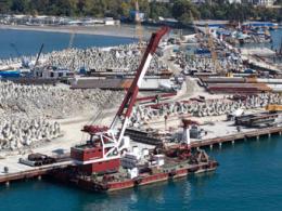 В сочинском порту возведут престижные коммерческие галереи