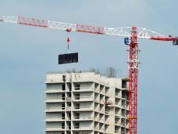 Размер строительства жилья в городе Москва повысился в 5 раз
