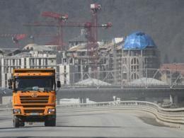 Правительство отсрочило мораторий на сооружение в олимпийской зоне