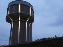 В Бельгии водонапорную башню переделали в дом