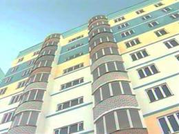 Размеры жилищного строительства в городе Москва снизились  на 30 %