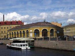 Выпуклый рынок в Санкт-Петербурге реализовали мореплавателям