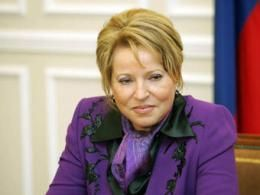 Матвиенко представила основную цель стройкомплекса Санкт-Петербурга