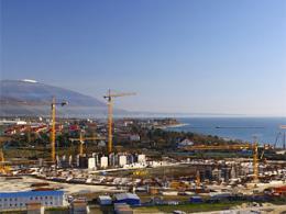 В Сочи стартовало сооружение Олимпийской деревни