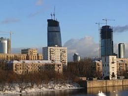 """Жилище для расселения зданий около """"Сити"""" начнут создавать в 2012 году"""