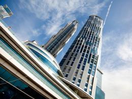 В Дубае раскрылся высочайший отель во всем мире