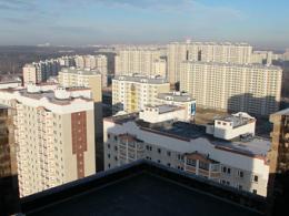 Наиболее вразумительными в городе Москва были новостройки на юго-западе