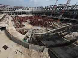 """Сооружение стадиона для """"Зенита"""" остановили"""
